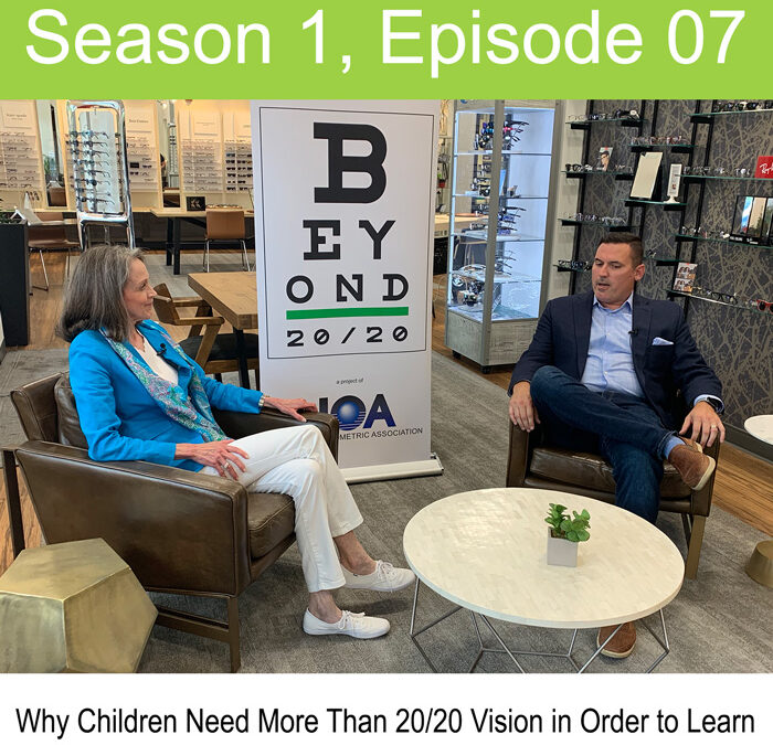 Why Children Need More Than 20/20 Vision in Order to Learn